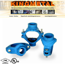 Ductile Iron Grooved Pipe Fittings of Grooved Mechanical Cross.