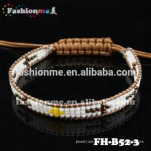 Bracelets d'enveloppe de Guangzhou à la main 1 fil graine perle
