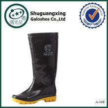 los hombres de alta calidad calzan los zapatos de lluvia de lujo de los hombres de las botas