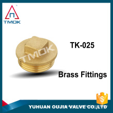 """New Brass 3/8"""" OD Flare Short Forged Nut Brass Flare Tube Fitting"""