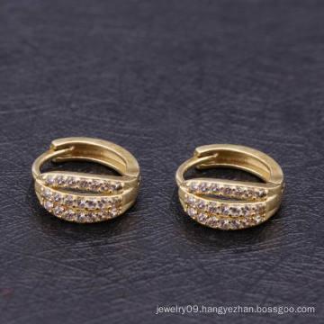 Fashion 18k Gold Color Huggies Earring Designs