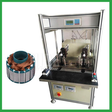 Single flyer BLDC outer Rotor coil winding machine