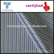 Raindow Farbe-Design 100 Baumwollgarn gefärbt Streifendesign in Popeline Hemd Stoff weben