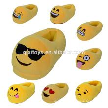 Hot Sale Funny Emoji Bedroom Slippers Wholesale