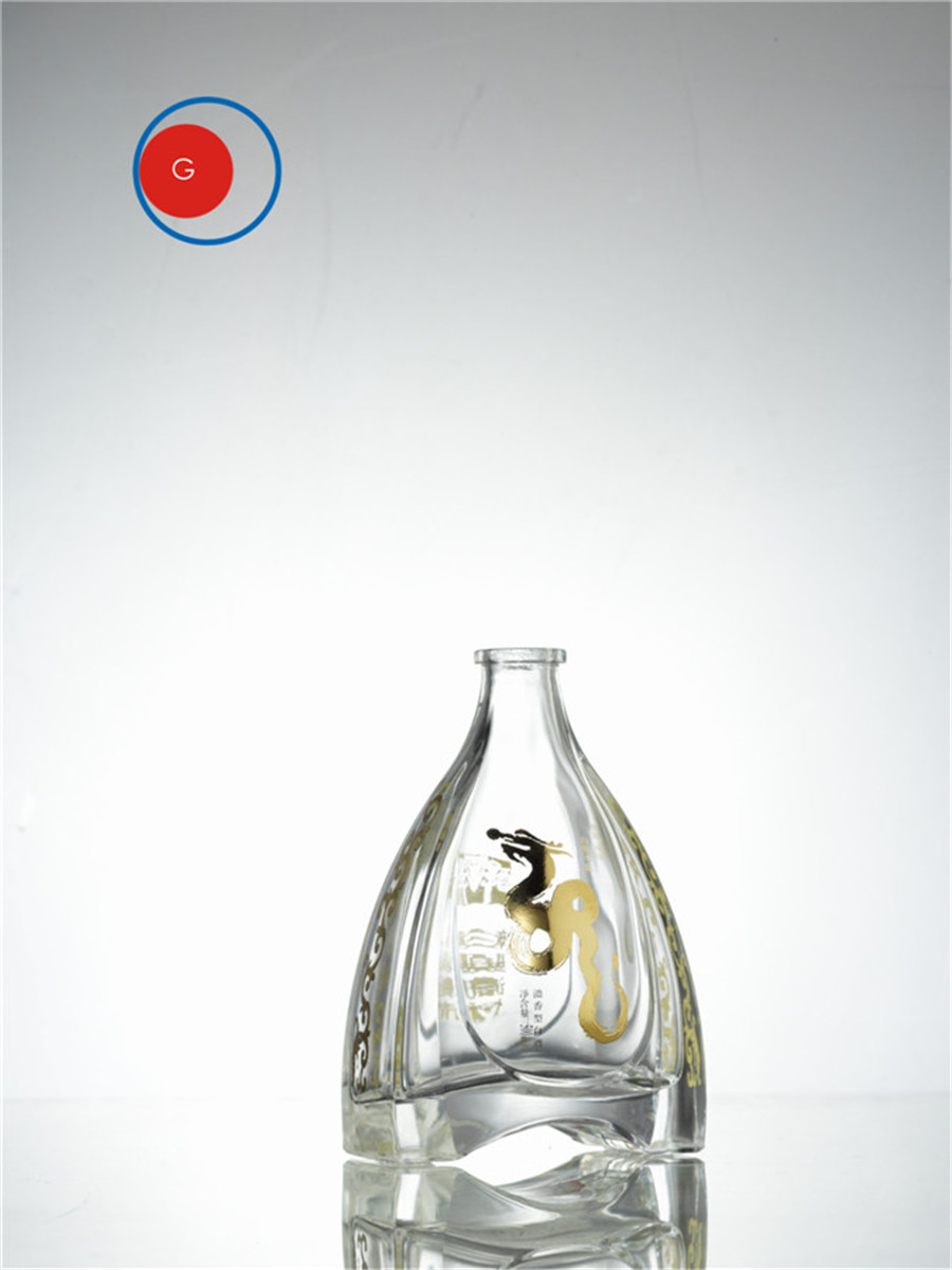 Liquor Glass Bottle