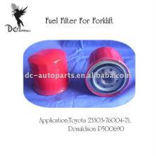 Filtro de Combustível 23303-76004-71 da empilhadeira de Toyota