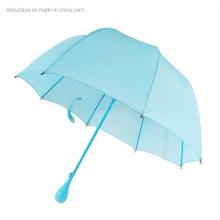 Customized Blue Skye Cheap Small Cute Dome Shape Child Umbrella for Kid