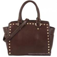 Aw New Arrival Stud High Quality PU Handbag (ZX20077)