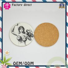 Round Type Coffee Coaster Factory Supply OEM Bienvenue