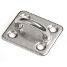 304 Edelstahl-quadratische Auflage-Augen-Platte