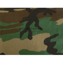 N / C Woodland Camouflage Fabric for the Middle East