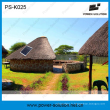 Kit solaire Plug and Play solaire avec chargeur solaire mobile sur la grille pour la foire solaire de Canton