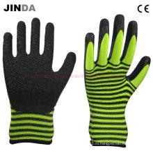Рабочие перчатки с латексной оболочкой из цветной нейлоновой оболочки (LS217)