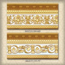 Moulures décoratives en plastique pour les villas luxueuses, les hôtels et les restaurants.
