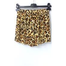Damen Shorts mit Leopardenmuster