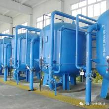 Quartz sand filter for industry water treatment
