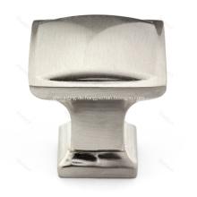 Zinklegierung traditioneller quadratischer Kabinett-Hardware-Knopf