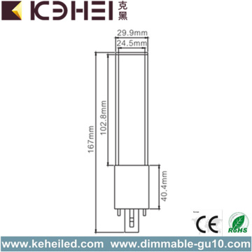 6W LED Tube Light CE RoHS Lumen High
