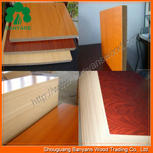 Melamine Laminated MDF/Melmine MDF Board/Melamine Faced MDF
