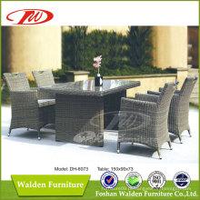 Conjunto de jantar de rattan de luxo / mesa de jantar ao ar livre (DH-6073)