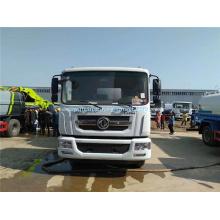 Dongfeng tipo de combustível elétrico pequeno caminhão de lixo