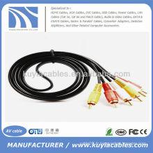 Câble 6FT 3RCA AV Audio vidéo mâle