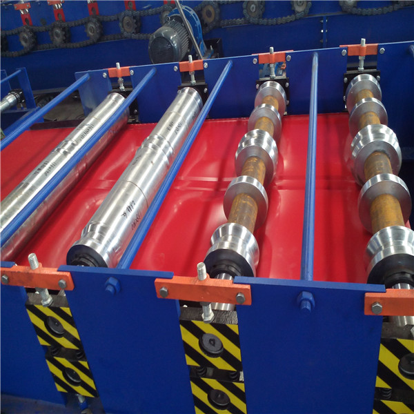 Automatic Roof Rolling Sheet Forming