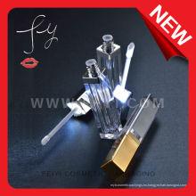Empty Led lipgloss Empaquetado de cosméticos