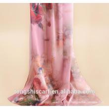 мода цифровой печатных леди длинный шаль шарф
