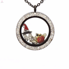 Personalized coin holder locket pendant pendant jewelry