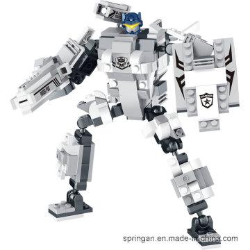 "Robotech Series Designer 3in1 ""City Patrol"" Blocks Toys"