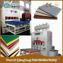 Spanplatten-Melamin-Hydraulik-Sperrholz-Heißpressmaschine