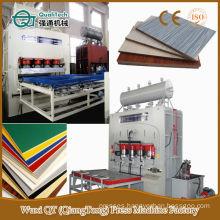 Chipboard Melamine Hydraulic Plywood Hot Press Machine