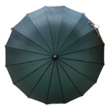 Auto Open Pongee 16k Straight Umbrella (JYSU-10)