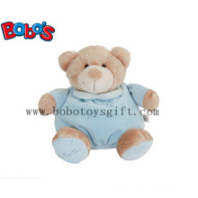 """10""""Blue Plush Infant Toys Baby Toy Sleeping Bear for Your Kids Sleeping Time"""