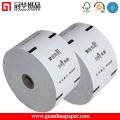 Rouleaux de papier certifiés certifiés certifiés ISO de 76 mm pour la machine POS