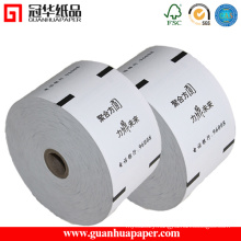 Paper Manufacturer Customized ATM Small Ticket Roll Paper