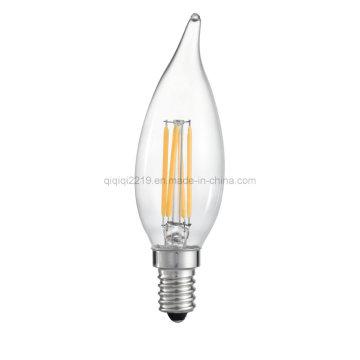 Bombilla de filamento LED con vela 3.5W Ca32
