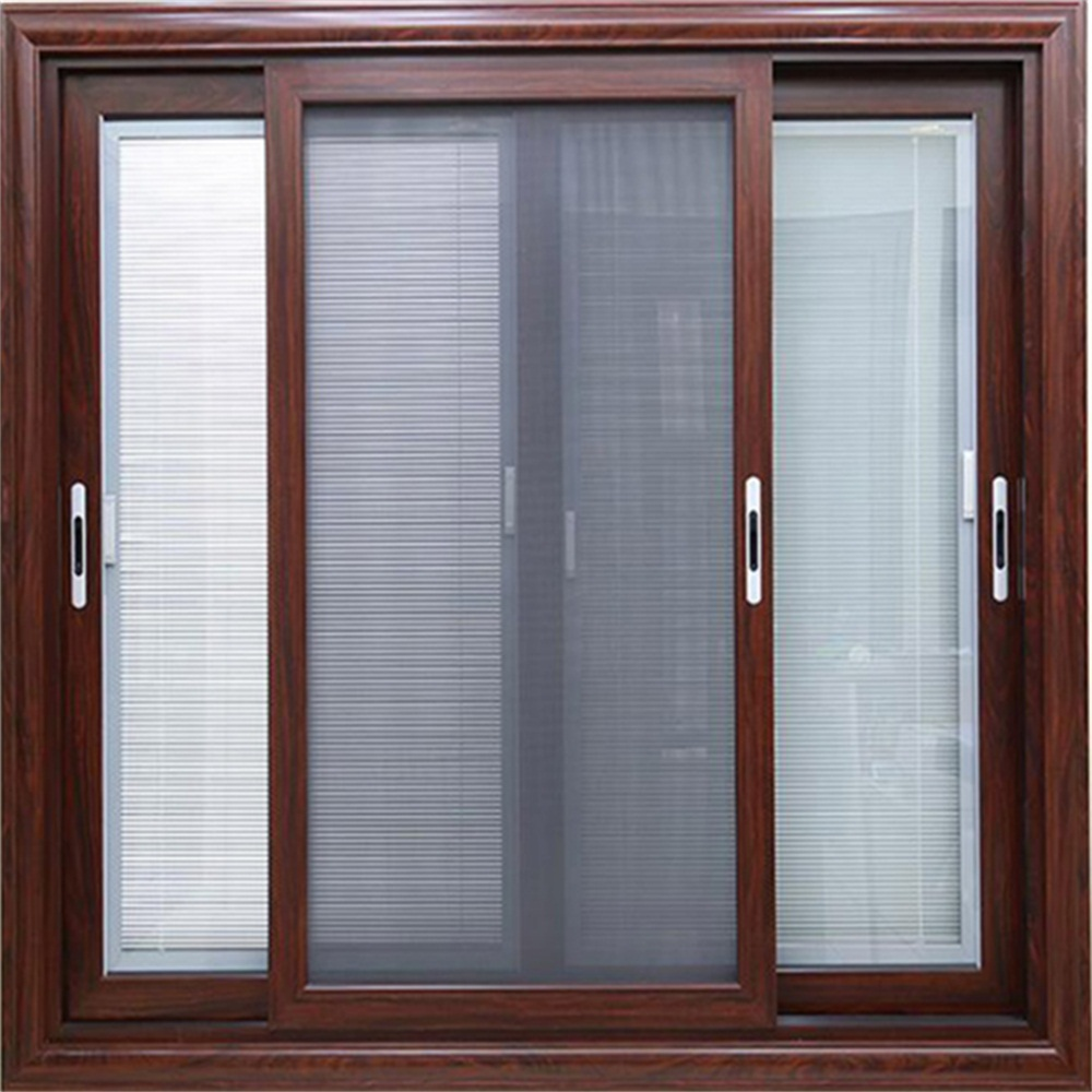 Aluminium Sliding Door with Diamond Mesh