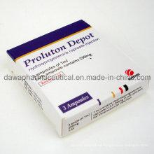 Inyección de caproato de hidroxiprogesterona proluton 250mg para parto prematuro