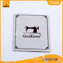 Étiquette principale pour vêtements LW20015