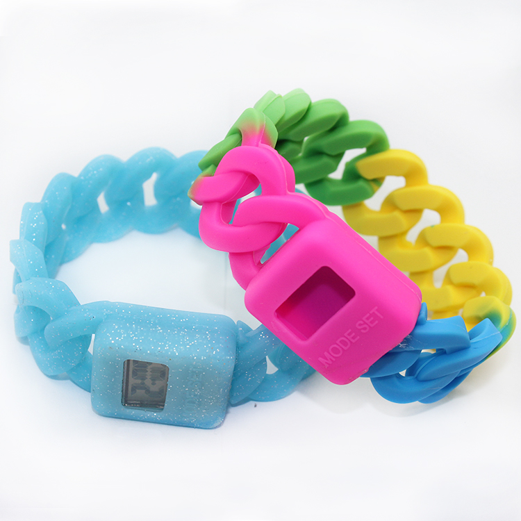 New Style Child Girls Silicone Strap Watches
