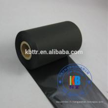 Ruban thermique en résine de lavage noire de type ruban d'impression TTR