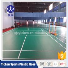 4.5mm PVC badminton court plancher synthétique tapis de sol en vinyle tapis de sport