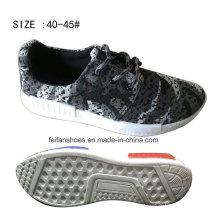 2016 Mais Recente Barato Injeção de Homens Respirável Flyknit Casual Sapatilha Sapatos