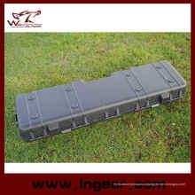 123cm militar arma plástico ferramenta elegante Kit arma caso com esponja dentro