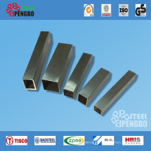 Short Square Type Stainless Steel Tubes