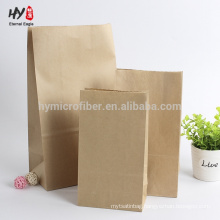 recyclable blank custom wholesale craft paper bag