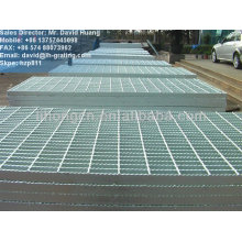 galvanized serrated flooring grating
