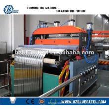 Machine en acier à l'acier en métal pour la construction Usage / Bobine d'acier à grande vitesse et ligne de coupe de la feuille de Hangzhou Chine